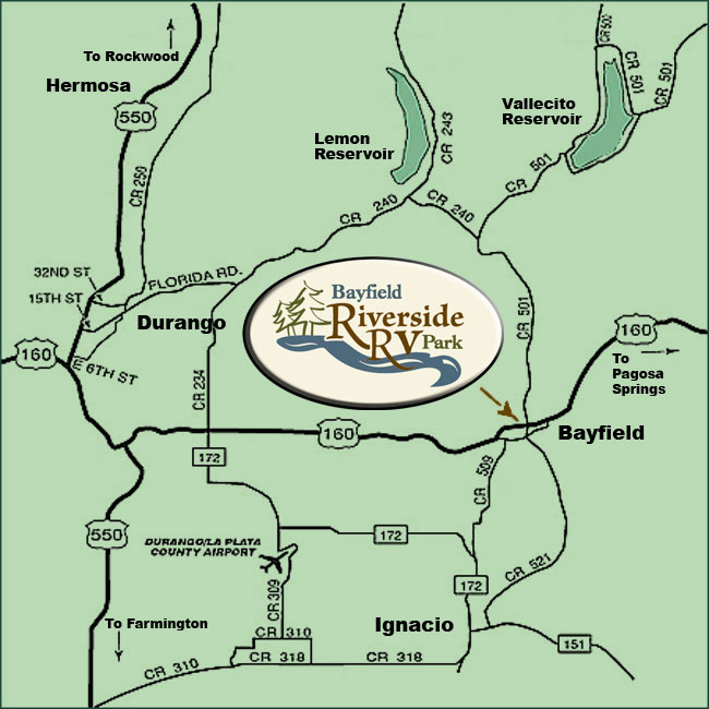 Bayfield Local Map